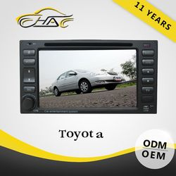 oem car DVD universal for toyota hilux car radio gps navigator support blue tooth
