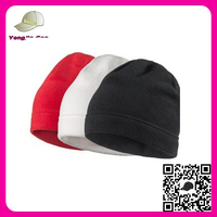 Wholesale Unisex Gender Cheap Winter Beanie Hat Multi color polar fleece beanie hat pattern