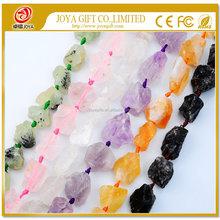 Natural Real Raw untreated Rough Crystal Amethyst Citrine Rose Quartz Lemon Beads nugget semi precious stone & Gemstone Crystal