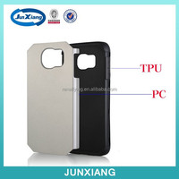 New arrival hybrid cases heavy duty protective cover for Samsung Galaxy S6