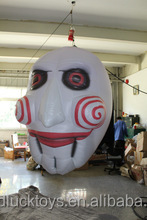 customized giant inflatable halloween mask for advertising