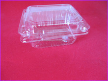 Transparent PP clam shell pack for snack foods