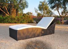 2015 Wicker Used Hotel Pool Furniture rattan rattan wicker sun lounger