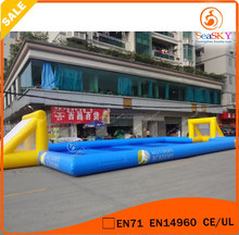Customized Cheap sale mini football pitch , Inflatable football pitch for sale