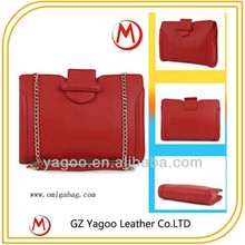 simple elegant chain handle acrylic purse and clutch
