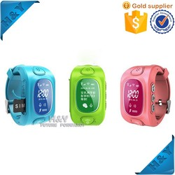 DA0016 Y3 2015 New Products Silicone Wristband Smart Watch Kids GPS Watch