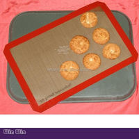 The hot sell non-stick silicone baking mat,aluminum foil pizza pan