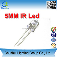 850nm 940nm led diode 5MM infrared led emitters