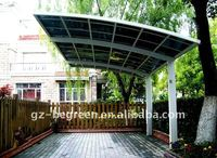 High quality and hot sale outdoor aluminum frame motorcycle shelter canopy