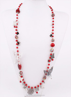 Acrylic Seed Beads Butterfly Wholesale 2015 red coral necklace designs