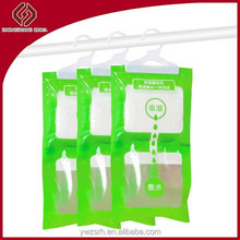 Moisture absorber calcium chloride desiccant dehumidizer bag for damp places