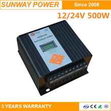 24V Solar Street Light Controller, LED display, auto and manual control