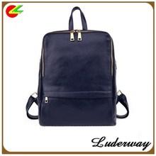 New 2015 Korea fashion shoulder bag College of wind Leather bag women Backpack school bag students backpacks for girls