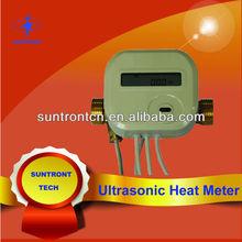 medidor de flujo del medidor de calor