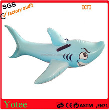 inflatable toys/inflatable shark floater/water floater
