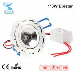 competitive ce rohs approved 3w epistar led ceilng light distributors canada