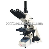 Trinocular Biological Microscope Can Be Connect Video Attachment And Photography
