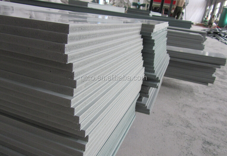 Trade assurance eco friendly wpc foam board construction for Foam concrete forms