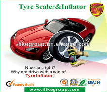 Tubeless Tire Sealer and Inflator(SGS,Reach,RoHS)