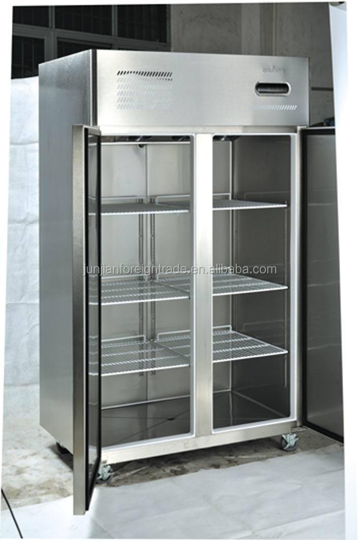 Freezer With Double Glass Door Jpg