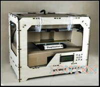 RepRap Prusa 3d printer lower price new version duplicator 4 with 2 kg filaments for free