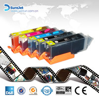 rechargeable ink cartridge for PGI550 with chip made in china