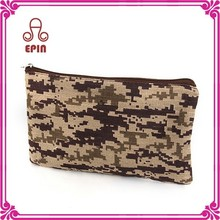 High qualtiy custom canvas cosmetic case makeup bags for lady