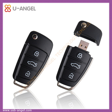 Audi key usb flash drive 1gb usb plastic stick black audi usb pen drive