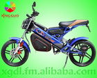 Motocicleta elétrica dobrável