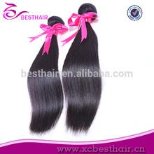 Dyeable pelo dobles tramas venta al por mayor productos de pelo negro