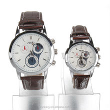 Brand Watch Brown Leather Strap men's quartz watch fashion casual Style Quartz Military Waterproof Watch montre homme