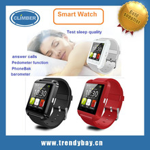 Newest arrival bluetooth android u8 smart watch phone