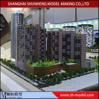 3d building scale model, miniature architecture scale models making