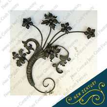 2013 new product decorative iron gate components gate parts