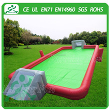 2015 Excellent design inflatable football pitch, portable football field, inflatable football arena