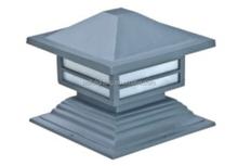 pl 2001 wireless monocrystalline sunpower led outdoor light pillar light for parks gardens hotels walls villas