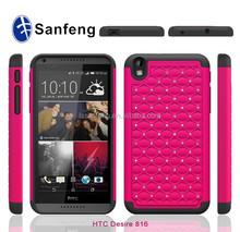 Cheap mobile phone case for htc desire 816 diamond case