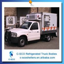 Ice cream van freezer mini refrigerator van refrigerated cargo van