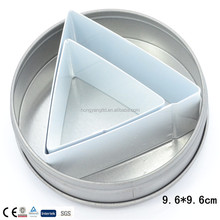 100% food grade triangle cookie cutter sets factory