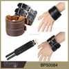 fashion jewelry 2015 new product popular design mens leather bracelet wholesale