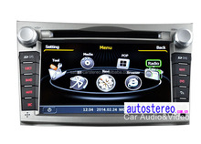 S100 Car DVD Player with GPS Navigation System Touch Screen for Legacy Outback 2009+ Car Stereo Satnav