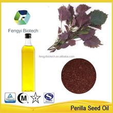 Nuovi prodotti 2015 alimentazione produttore biologico spremuto a freddo di semi di perilla olio vegetale con basso prezzo dalla fornitori all'ingrosso
