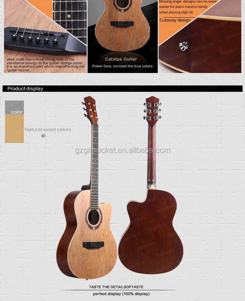 Catalpa Wood Guitars Catalpa Cutaway Guitars
