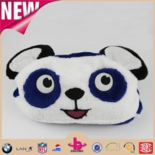 Panda imitated soft and comfortable wrap knitting flannel baby blanket/ 100% polyester flannel fleece blanket for babies