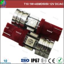 Super bright festoon,1W high power+4SMD5050,12V DC/24V DC,car led tuning light