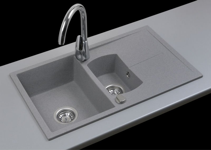 Quartz Stone Kitchen Sink : Composite Granite Quartz Kitchen Sink - Buy Composite Kitchen Sink ...