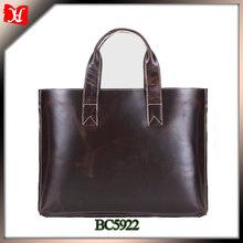 Hot selling men leather bag genuine leather men business bag for men