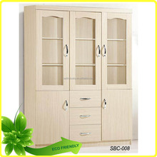 Office furniture specific use bookcase particel board type wooden bookcase