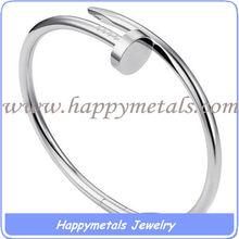 stainless steel nail/ spike bracelet (B20000)