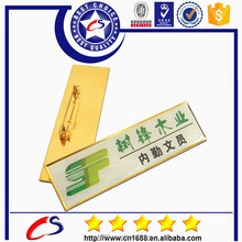 Chuangshi high quality rivet metal nameplate with your own logo